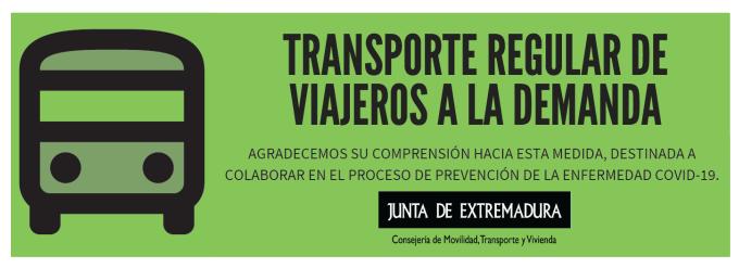 Transporte a la Demanda Junta de Extremadura